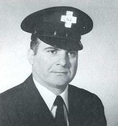 Photo of Fire Fighter Michael J. Bruno, 1970.
