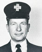 Fire Fighter Joseph P. Saniuk.