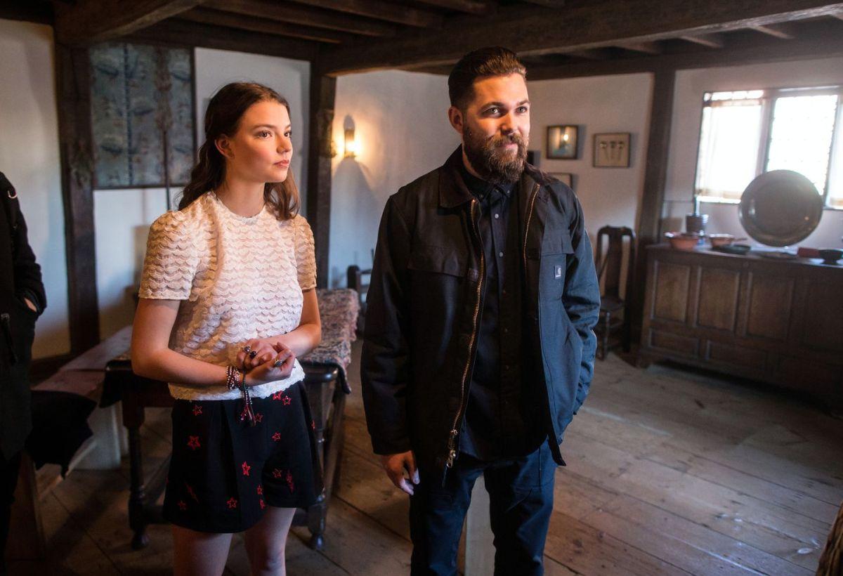Robert Eggersand star Anya Taylor-Joy in Salem.