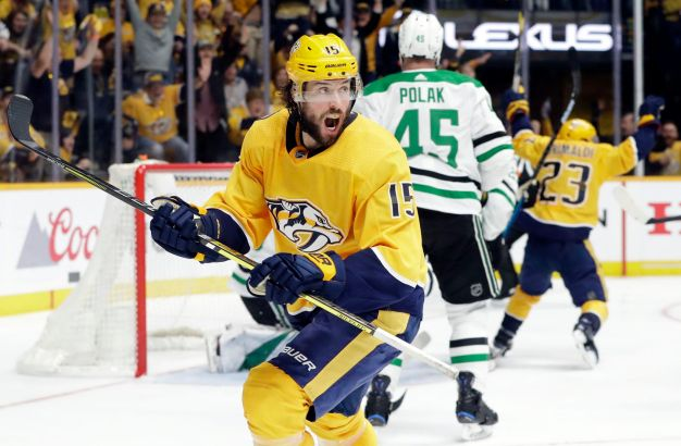 Craig Smith scores in OT as Predators tie series with Stars - The Boston Globe