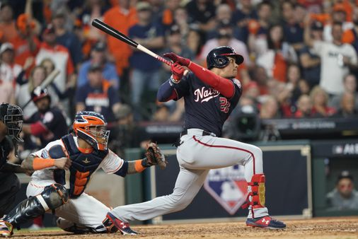 Juan Soto, Nationals get to Gerrit Cole to win Game 1 - The Boston Globe
