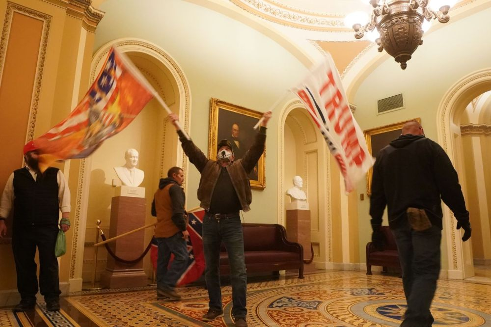 Historians and academics warn that while the Capitol riot may be  unprecedented, white extremist groups are growing - The Boston Globe