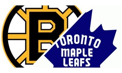 Boston Bruins Lines vs. Toronto Maple Leafs