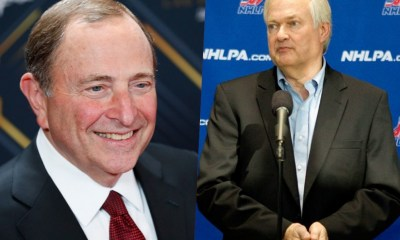 Gary bettman, donald fehr, nhl return, nhl trade