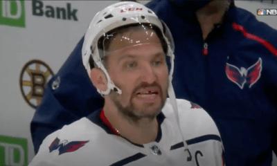 Washington Capitals Alex Ovechkin, Boston Bruins