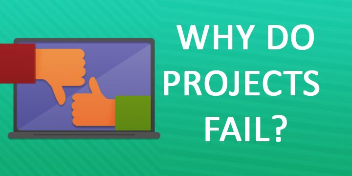 Why do projects fail? Project Management Success with PMP in Dubai