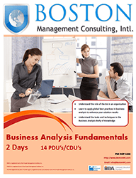 Business Analysis Fundamentals