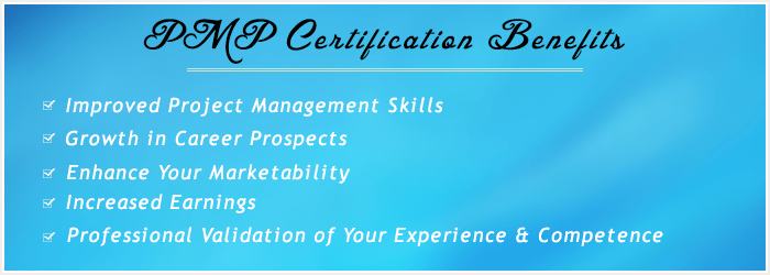 PMP Certification & Exam Prep Training Course in Dubai Benefits