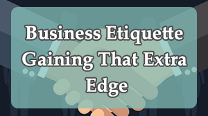 Business Etiquette Course in Dubai
