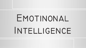 Emotional Intelligence Course in Dubai