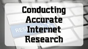 Conducting Accurate Internet Research Course in Dubai