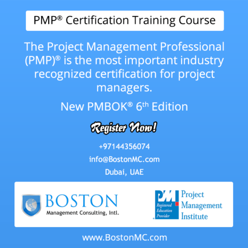 PMP Training in Dubai