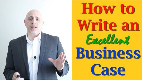Business Analysis Training Video - What are the contents of a Business Case?