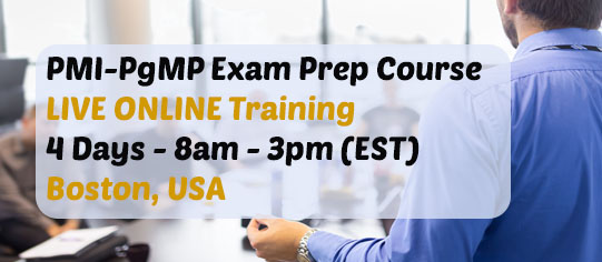 PgMP Live Online Training Course in USA