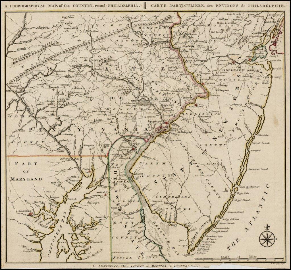 A Revolutionary War Rarity By Bernard Romans
