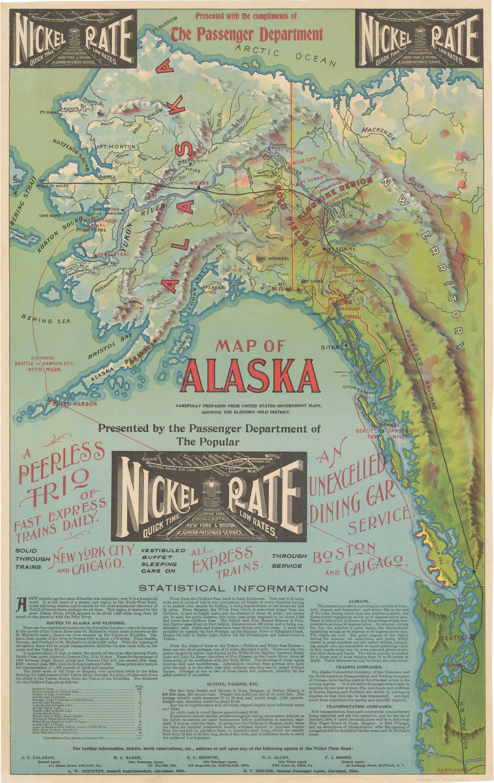 An Unrecorded Klondike Gold Rush Promotional Map