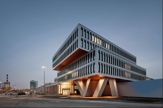 Modern European Office Buildings Combining Sustainable Smart Flex