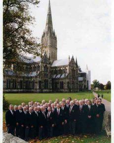 1998 Salisbury Cathedral, England, 1998