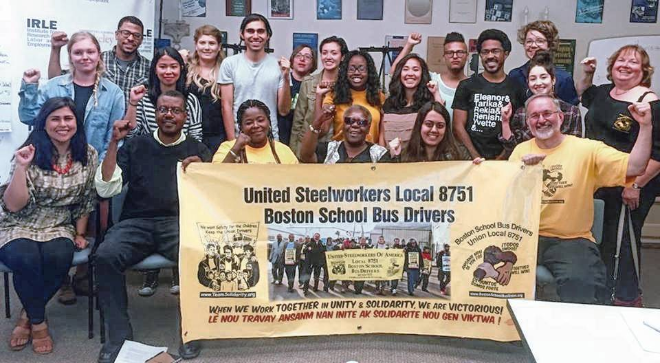Boston School Bus Union West Coast tour shares lessons of victory