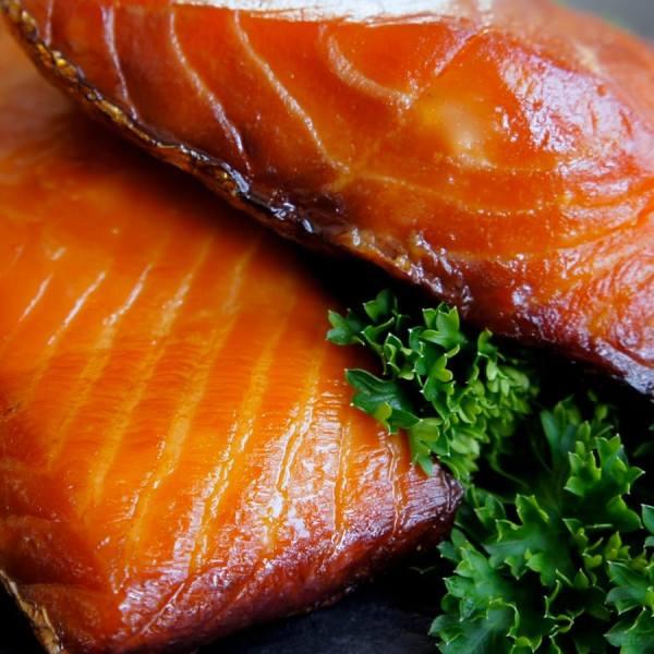 Boston Smoked Fish Co Simply Smoked Salmon