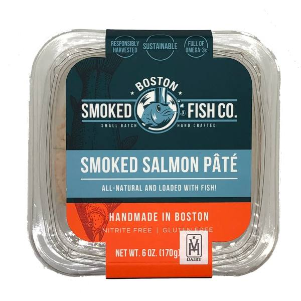 Boston Smoked Fish Co Smoked Salmon Pate