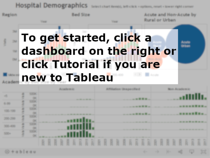 Tableau explore start image