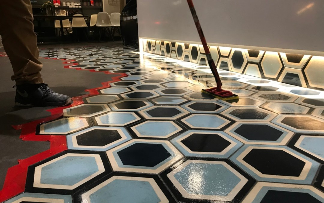 How do you take care of Encaustic Tile?