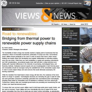 GE Oil & Gas Newsletter