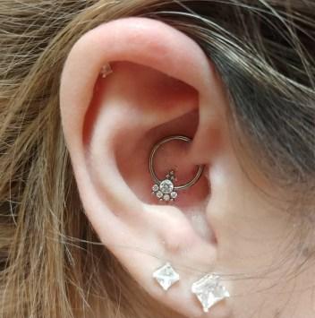 Kristina Kelley Body Piercings Ear Piercings Surface Piercings