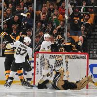Kris Letang Takes a Dive to Get the Penguins a Win
