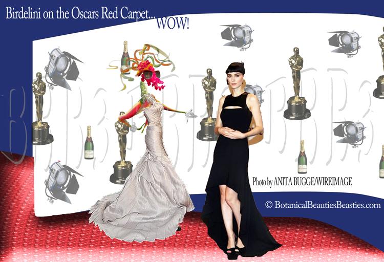 tBirdeline & Rooney Mara on THE Red carpet