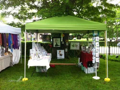 Herb & Garden show booth