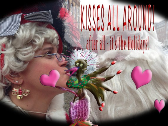 A Holiday Kiss ....
