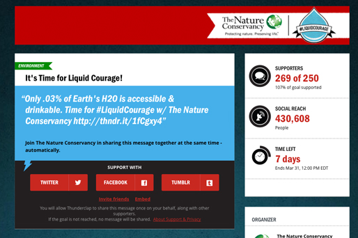 The Nature  Conservancy screen shot