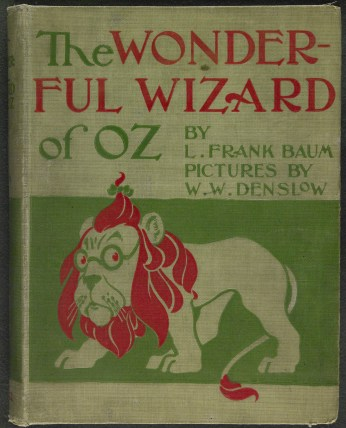 Book Cover Wizard of OZ