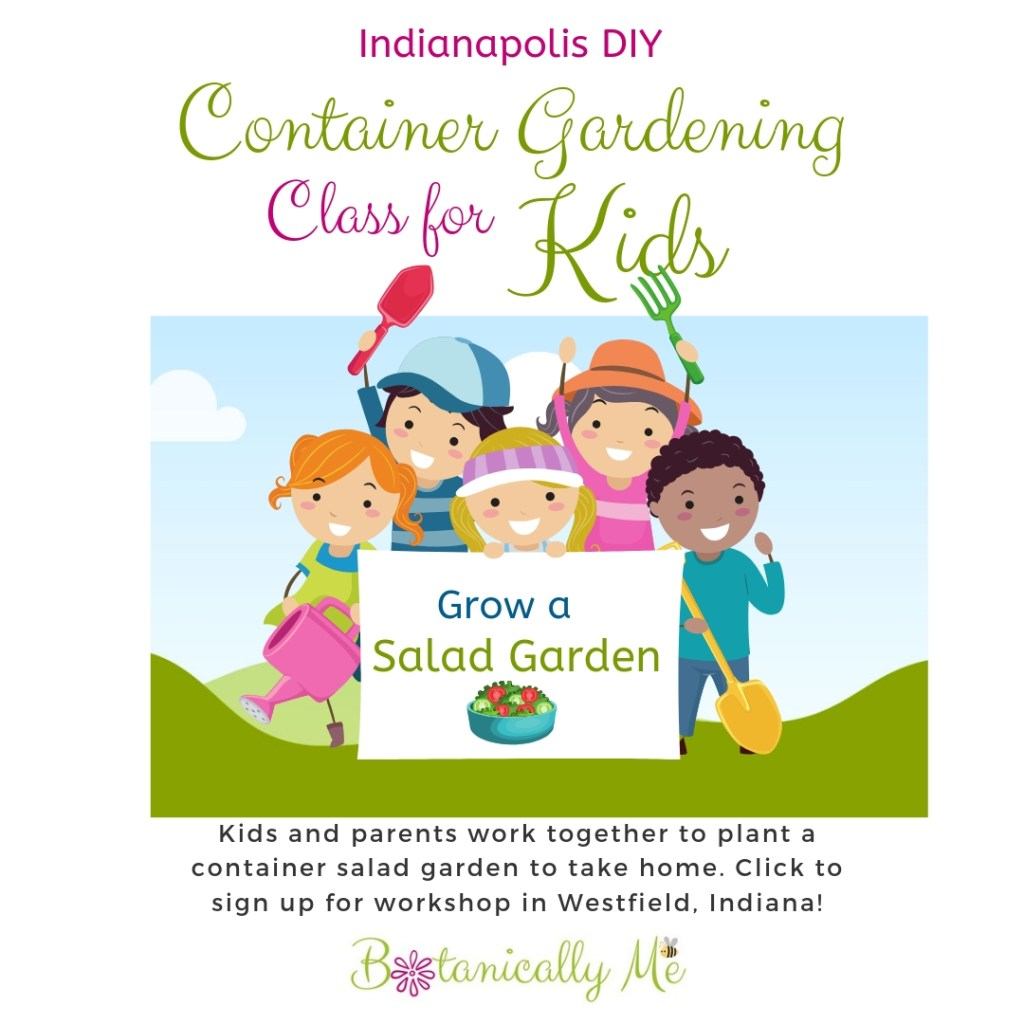 container gardening class for kids