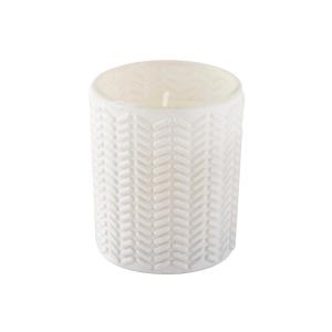 Kit c/3 Velas em Vidro Branco – White Garden