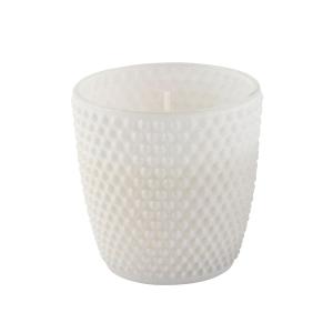 Vela em Vaso Poá 8x9cm – Branco