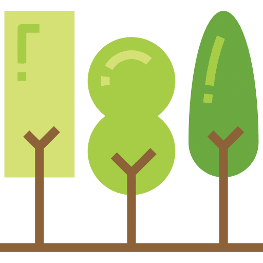 Three trees icon