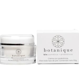 Crema facial con probioticos naturales