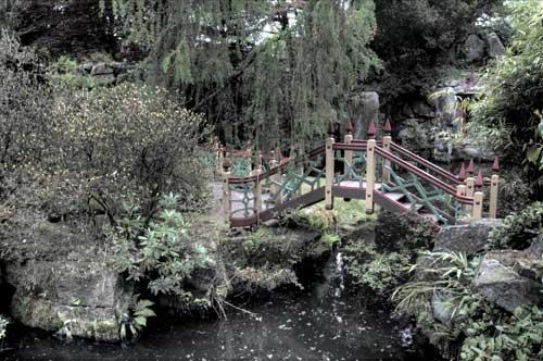 Chinese Bridge at Biddulph Grange Garden