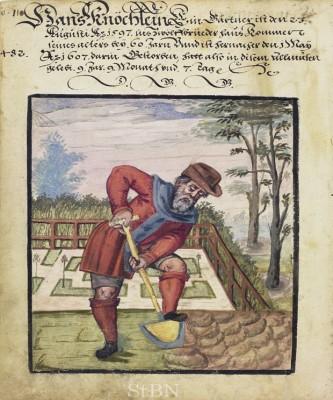 Image: Hans Knöchlein, Hausbuch der Mendelschen Zwölfbrüderstiftung, Band 2. Nürnberg 1550–1791.