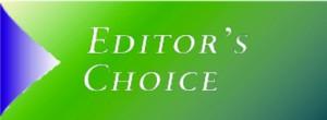 Editors choice banner