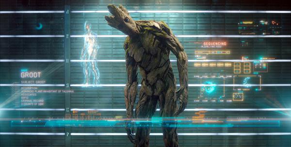 Groot, intelligent tree