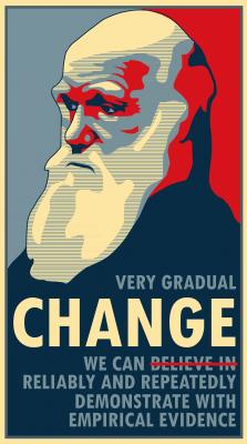 Darwin, change we can believe in