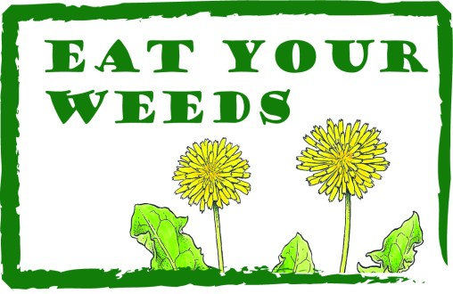 Eat your weeds logo (c) LStruwe