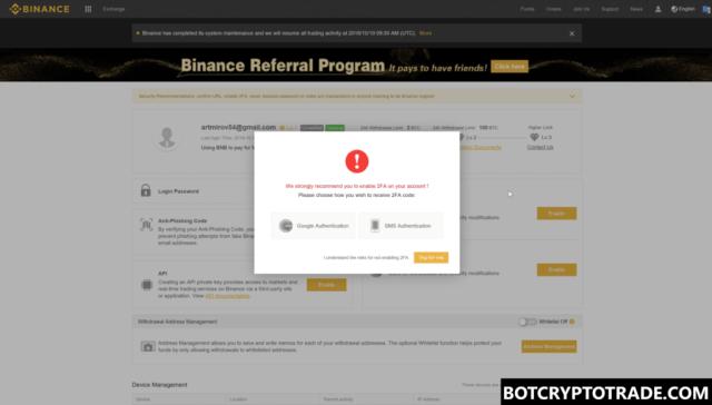 How register on Binance