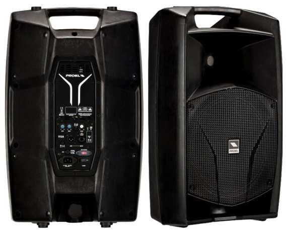 Proel V12A ACTIVE SPEAKER (PAIR)