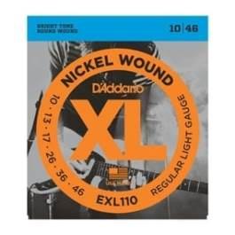 D'Addario EXL110 REGULAR ELECTRIC GUITAR STRINGS