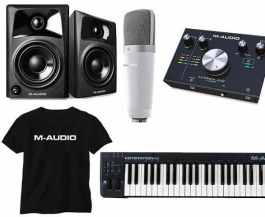 M-Audio STUDIO IN A BOX COPLETE STUDIO PACKAGE